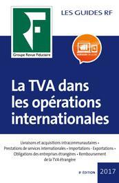 La TVA dans les opérations internationales 2017
