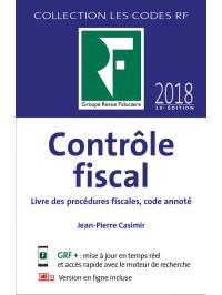 Contrôle fiscal 2018