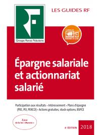 Épargne salariale et actionnariat salarié 2018