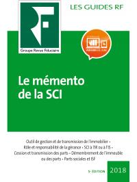 Le mémento de la SCI 2018