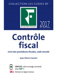 Contrôle fiscal 2017
