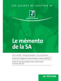 Le mémento de la SA 2013