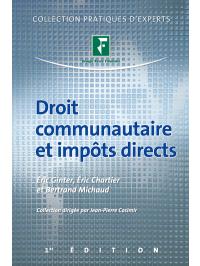 Droit communautaire et impôts directs 2011
