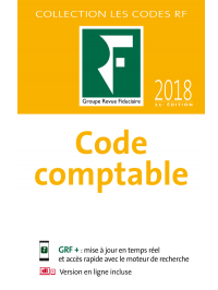 Code comptable 2018