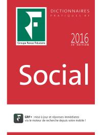 Dictionnaire Social 2016