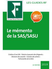 Le mémento de la SAS/SASU 2019
