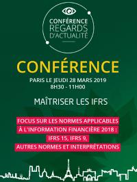 Conférence, Paris, 28 mars 2019