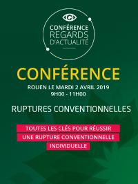 Rencontre gratuite : Ruptures conventionnelles, 2 avril 2019