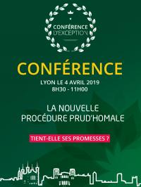 Conférence Prud'hommes, Lyon 4 avril 2019