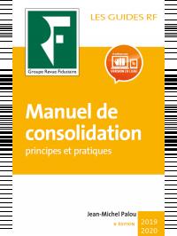 Manuel de consolidation 2019