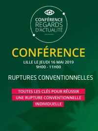 Rencontre gratuite : Ruptures conventionnelles, 16 mai 2019