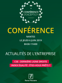Conférence Nantes, 6 Juin 2019