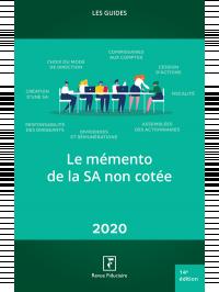 Le mémento de la SA 2020