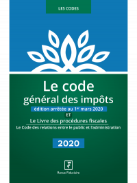 Le Code Général des Impôts 2020