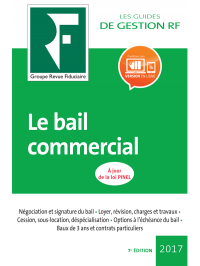 Le bail commercial 2017