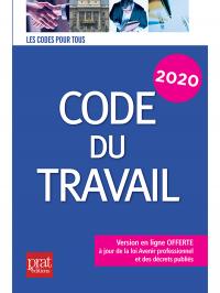 Code du travail 2020 (Prat Editions)