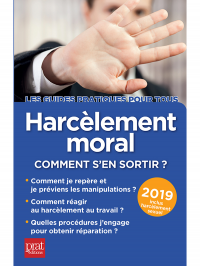 Harcèlement moral 2019