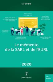 Le mémento de la SARL et de l'EURL 2020
