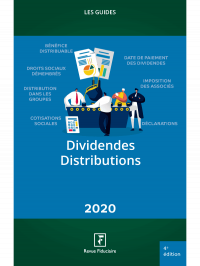 Dividendes - Distributions 2020