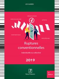 Ruptures conventionnelles 2019