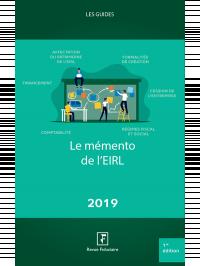 Le mémento de l'EIRL 2019