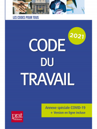 Code du travail 2021 (Prat Editions)