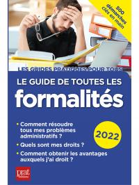 Le guide de toutes les formalités 2022